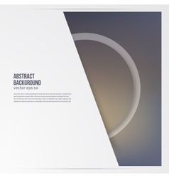 Circle object design trend and transparent vector