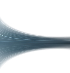 Abstract blue swoosh rapid wave folder vector