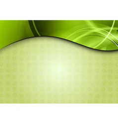 Spring background in the green color vector