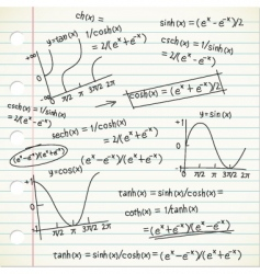 Math formula vector