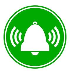 Bell button vector
