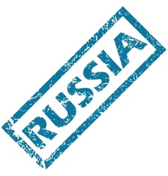Russia rubber stamp vector