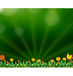 A gradient colored background vector