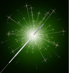 Sparkler fire vector