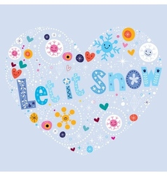 Let it snow 2 vector