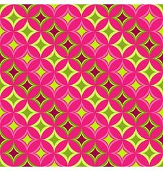 Pink seamless pattern vector