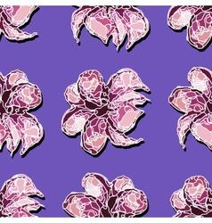 Violetflower-02 vector