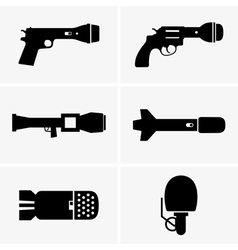 Weapon of information wars vector