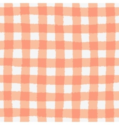 Seamless pattern with checkered geometric texture vector