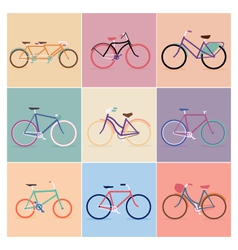 Bike designs vector