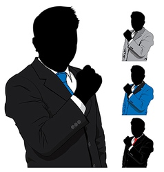 Business man success vector