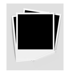 Instant photos vector
