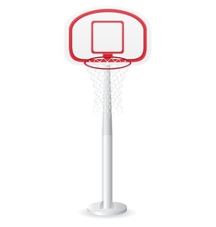 Basketball backboard vector