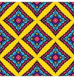 Ethnic festive abstract floral pattern vector