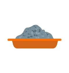 Cement tray vector