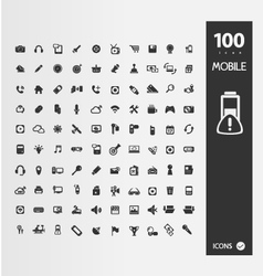 Minimal styled icons for autumn vector