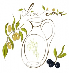 Olive vector