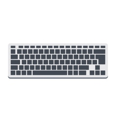 Keyboard vector