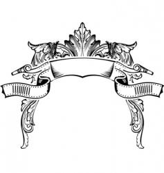 Antique frame vector