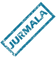Jurmala rubber stamp vector