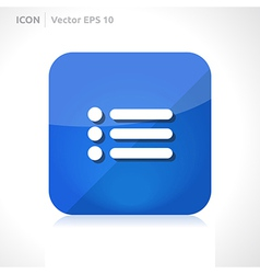 List of contacts icon vector