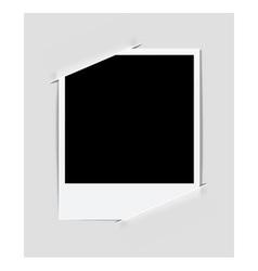 Instant photo vector