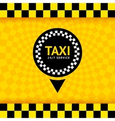 Taxi symbol new background 10eps vector
