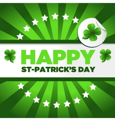 St patricks day background vector