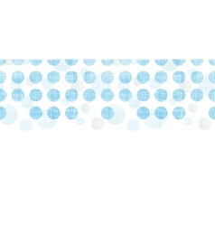 Abstract textile blue polka dots stripes vector