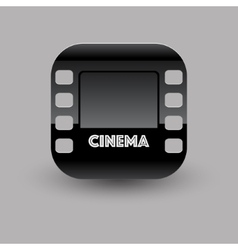 Cinema icon eps10 vector