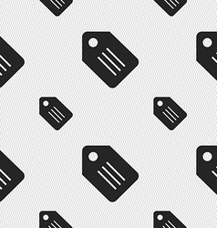 Special offer labelicon sign seamless pattern with vector