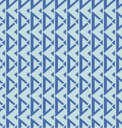 Geometric seamless pattern blue palette vector
