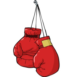 Boxing gloves vector