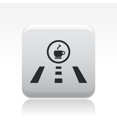 Stations direction icon vector