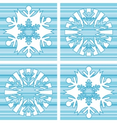 Retro snow vector
