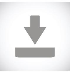 Download black icon vector