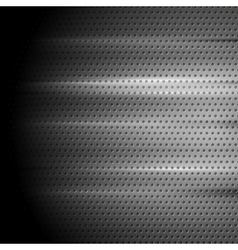 Tech perforated metal background vector