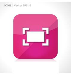 Zoom maximize icon vector