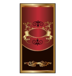 Luxury heraldry frames vector