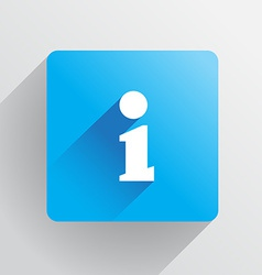 Information icon vector