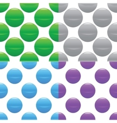 Sphere pattern set vector
