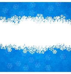 Christmas background with copyspace vector