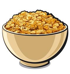 Tasty cornflakes vector