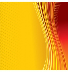 Heat background vector