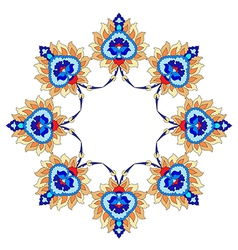 Artistic ottoman pattern series fourty nine vector