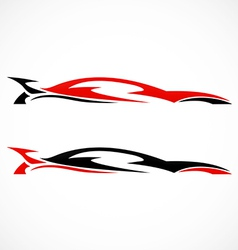 Car abstract automotive logo vector