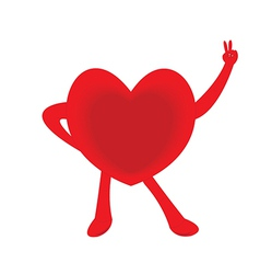 Healthy heart vector