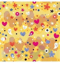 Happy party fun pattern vector