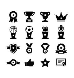 Awards icon vector