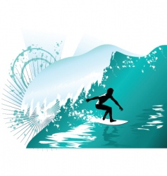Wave surfing vector